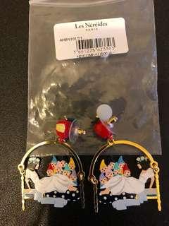 N2 白雪公主小矮人耳環