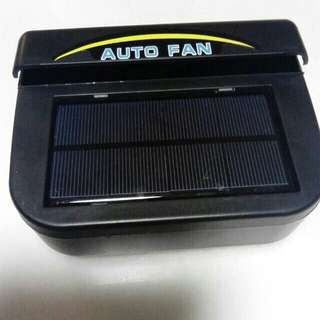 Auto solar car window fan 1w