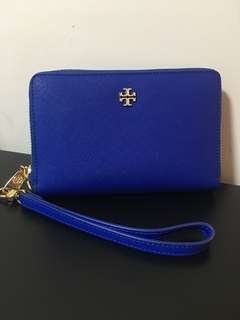 [99% New] Tory Burch Wristlet Wallet 銀包 York Multi-task Smartphone