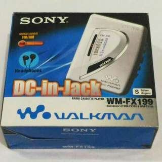 Walkman SONY WM-FX199 NOS / Baru