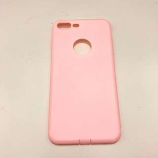 IPHONE 7 Plus / 7 + (8 plus ) Softcase Soft pink