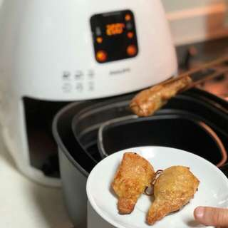 Air Fried Veg Drumsticks