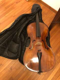 Full sized Synwin handmade cello