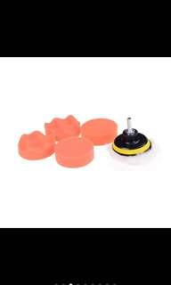 """3"""" polishing buffing pad(7pcs) set"""