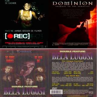 DVD 3 items: Rec + Dominion Prequel to The Exorcist + The Corpse Vanishes & The Devil Bat