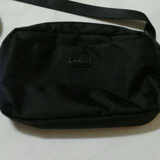 (Name Your Price)Miniso Black Sling Bag