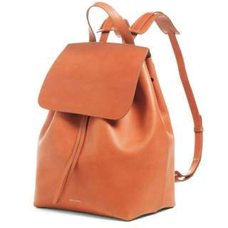 Mansur Gavriel leather mini backpack