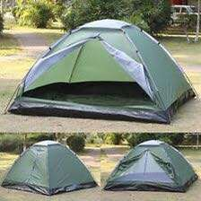 Familiar outdoor tent