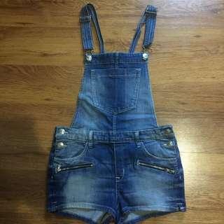 H&M Denim Jumper Shorts