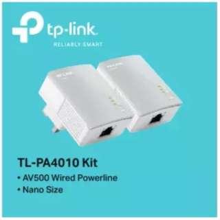 TP-LINK - TL-PA4010KIT, AV500 Nano Powerline Adapter Starter Kit