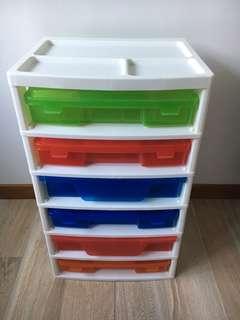 LEGO 6 Case Storage Unit