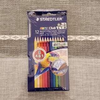 全新STAEDTLER 施德樓水溶木顏色12色裝