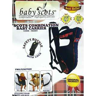 Baby Sscots combination baby carrier