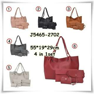 Bags one set