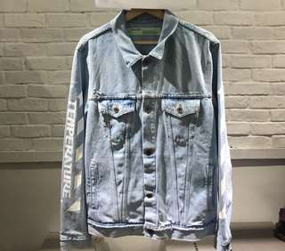 Offwhite ss18 Denim Jacket