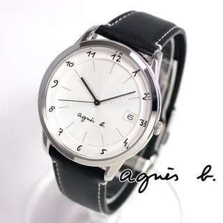 agnes b watch MADE IN JAPAN