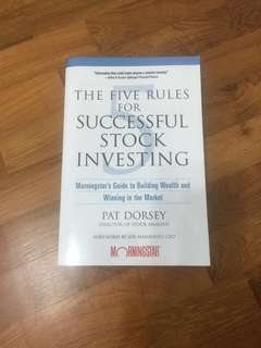 The five rules for successful stock investing - Morningstar