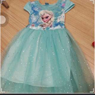 Frozen Tutu dress 4-6y (wear once only)