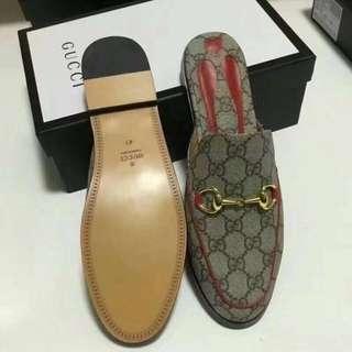 Gucci princetown mule half shoes!