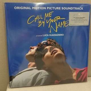 Call Me By Your Name Double Vinyl LP OST CD