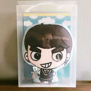 WTS GOT7 DREAM KNIGHT OFFICIAL GOODS GOTOON CUSHION SEALED (Jackson Wang)