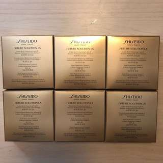 [只求快速賣出~] 全新Shiseido Future Solution LX sample set資生堂晶鑽美妍護膚套裝