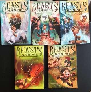 Book. Beast of Olympus series