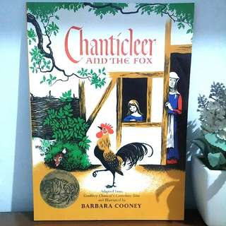 NEW❕Chanticleer And The Fox - Barbara Cooney