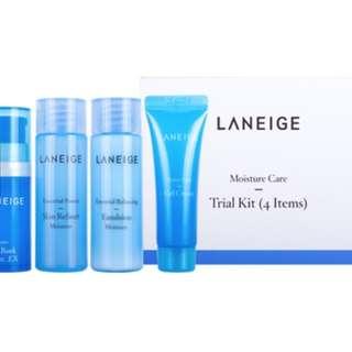 Laneige Moisture Care Trial Kit - 4pcs/box