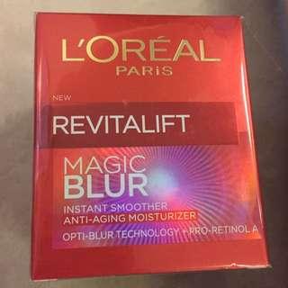 loreal magic blur anti aging moisturizer