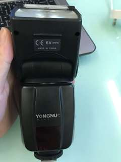 Yongnuo speedlite flashlight