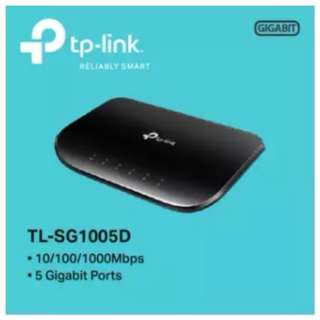 TP-LINK - TL-SG1005D, 5-Port Gigabit Desktop Switch