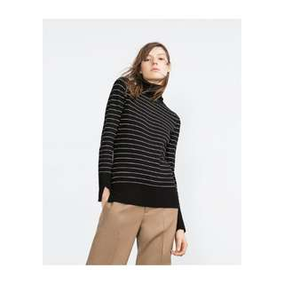 Brand new zara turtle neck