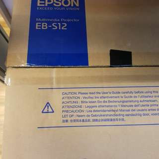 Epson S12 Projector