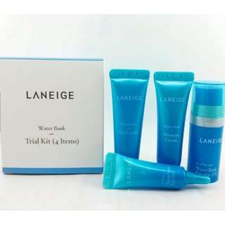 Laneige Water bank Trial Kit - 4pcs/box