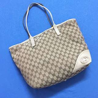 💯Auth Gucci Britt Large Tote Bag