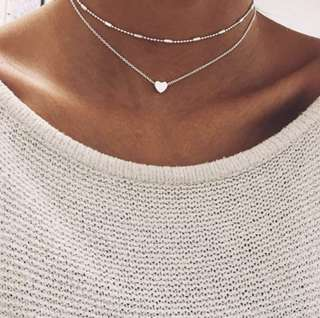 PO: Aesthetic Minimalist Chokers and Necklace