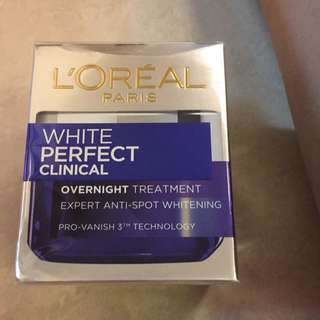 loreal overnight treatment