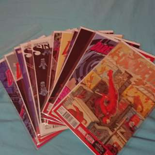 Daredevil (All-New Marvel Now) #0.5,#1 - #10