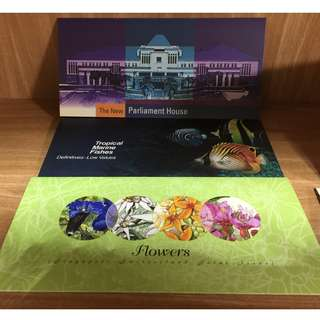 6 x Stamps Sets Assorted (at stated price) (Revised Price)