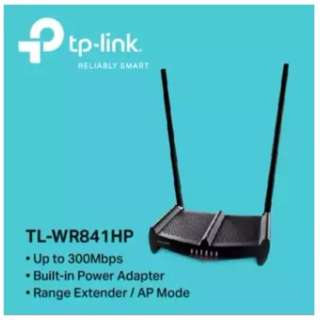 TP-LINK - TL-WR841HP 300Mbps High Power Wireless N Router (Version 3) 2 x 9dBi Antennas