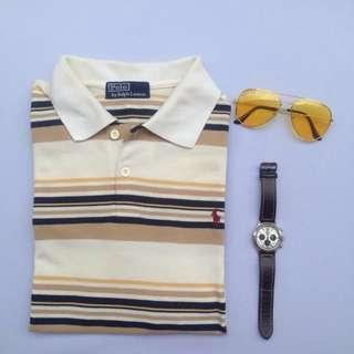 Authentic Ralph Lauren Striped Polo Shirt
