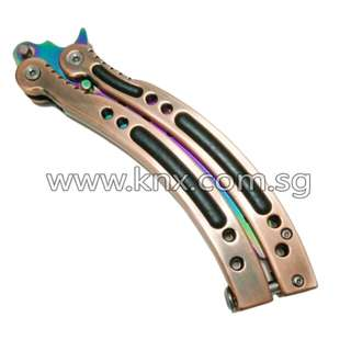 In Stock – MIS 0041 – CS:GO Rainbow Butterfly Training Knife