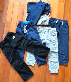 Boys pants x7, size 6-7 years old