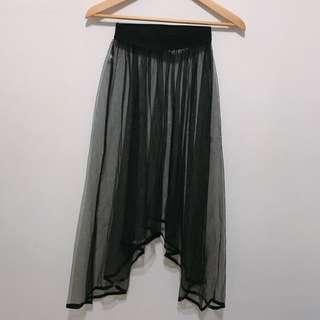 🚚 超透視紗裙