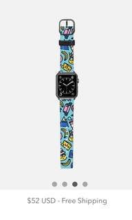 Casetify minions Apple Watch 42mm 錶帶 band