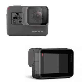 Gopro 5 / 6 Tempered Glass Camera Lens and LCD Screen Protector