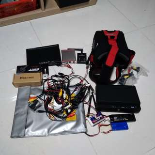 "Fpv Gear, Quanum V2, 7"" screen and etc"