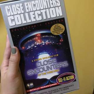 Collector's Edition of REPRICED! Close Encounters, A Steven Spielberg Film (VHS)