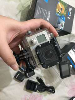 GoPro Hero 3 Black edition Complete with box and LCD Touch Screen
